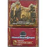 1993 Fantasy Collector Cards: Advanced Dungeons & Dragons (Ad&D) Part 2 (36 Packs) Red Box Out Of Box