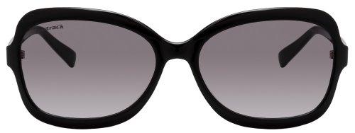 Fastrack Oval Sunglasses (Black) (P183PR2F)