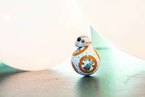 Sphero BB-8 Droide Interattivo Star Wars, Luci Led Incluse, Portata Bluetooth Fino a 30 Metri, Compatibile iOS/Android e Windows Phone