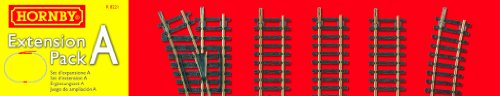 Hornby R8221 00 Gauge Track Extension Pack A