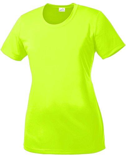 Top 10 neon yellow shirt womens long sleeve