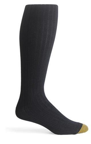 Gold Toe Mens AquaFX Over the Calf Dress Socks