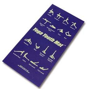 Amazon.com : 16 Yoga Poses Printed Mat : Sports & Outdoors