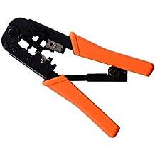 Cablelera Rj11/12/45 Modular Plug Crimp Tool, Ratchet Type (ZL8LEG-S236)