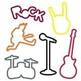 Silly Bandz Rock Bandz