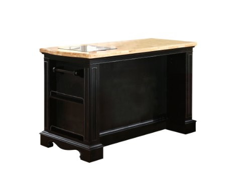 powell pennfield kitchen island counter stool powell pennfield kitchen island and stool home garden 9167