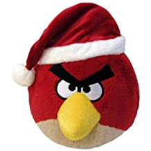Angry Birds CHRISTMAS 5 Inch Mini Plush Figure Red Bird