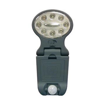 Motion sensor door light