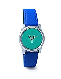 PosterGuy Cool Light Blue Cute Little Owl Bird Cartoon Analog Women's Wrist Watch-2238334536-RS2-S-BLU