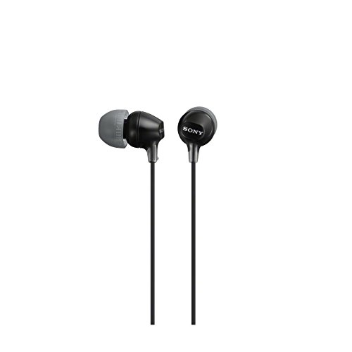 Sony MDR-EX15LP - Auriculares in-ear, negro width=