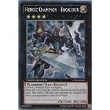 YUGIOH Heroic Champion - Excalibur , Secret Rare, CT09-EN002