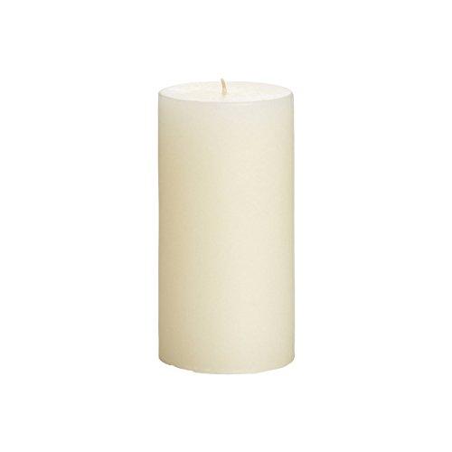 K & Decor Cylendrical Pillar Candles 2 X 4 CM White Set Of 4