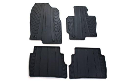 Genuine Mazda Accessories 0000-8B-R12 All-Weather Floor Mat