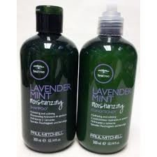 Paul Mitchell Tea Tree Lavender Mint Moisturizing Shampoo and Conditioner Duo