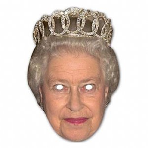 Celebrity Masks - The Queen