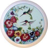 Ceramic Knob - Hummingbird #7451 -