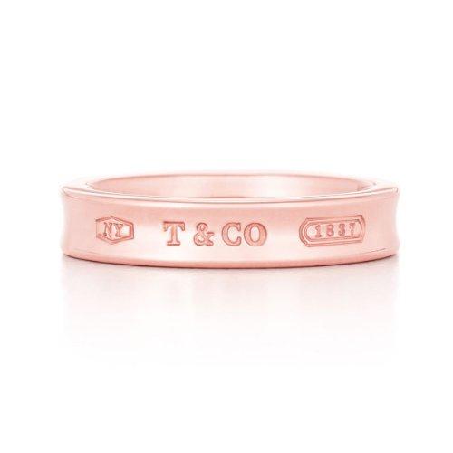 [ティファニー] TIFFANY & Co. 1837 ナロー リング ルベドメタル ローズ 指輪 [並行輸入品] (11)