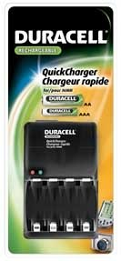 Amazon.com: Duracell CEF12N Quick Charger for AA & AAA