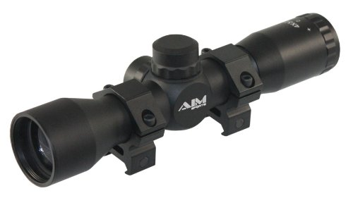 AIM Sports 4x32 Compact Riflescope Review