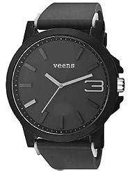 Veens Black Dial Mens Wrist Watch DW1210