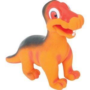 Pet Supplies : Pet Squeak Toys : Knight Pet Dinosaur Latex