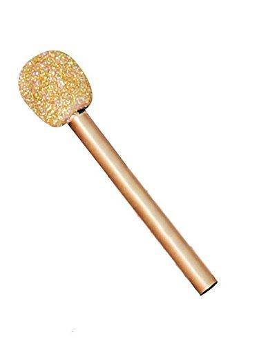 Glitter Microphone - Gold