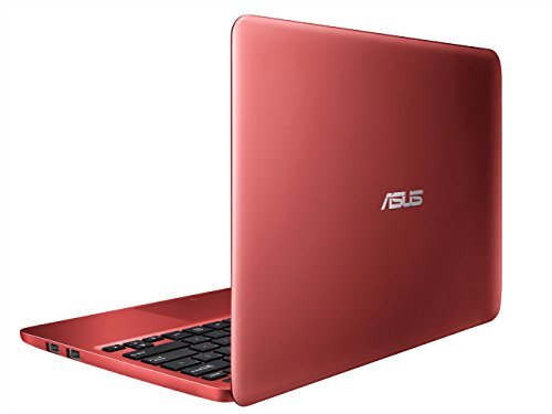 ASUS ノートブック X205TA レッド  [Windows10無料アップデート対応](WIN8.1 BING-32B / 11.6inch / Z3735F / eMMC 64GB / 2GB / BT4.0) X205TA-B-RED