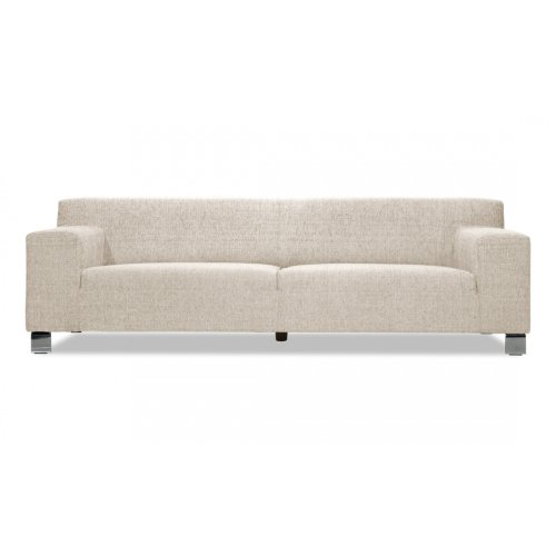 FASHION FOR HOME 3-Sitzer Sofa Marzio I Beige-Grau