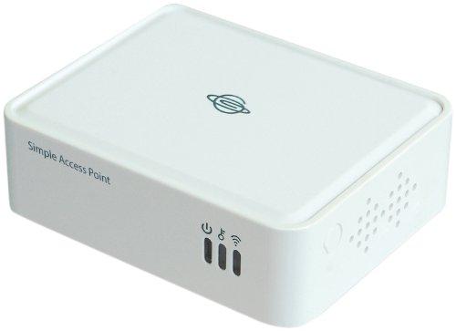 PLANEX ネットワークポートを持った機器につなげるだけで無線化 150Mbps WiFi無線LANシンプルアクセスポイント(親機)MZK-SA150N