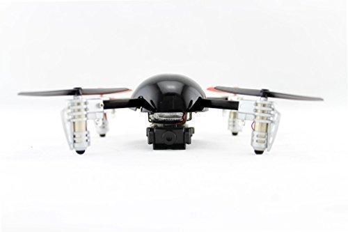 Extreme Fliers Quadricottero Telecomandato Micro Drone 2.0 con Modulo Telecamera - Nero