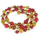 Banggood Strand / 60pcs Glitter Christmas Balls Baubles Xmas Tree Party Decor