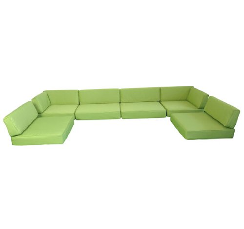 Replacement cushions for outdoor sectional sofa sofa for Sandhill outdoor sectional sofa set replacement cushions