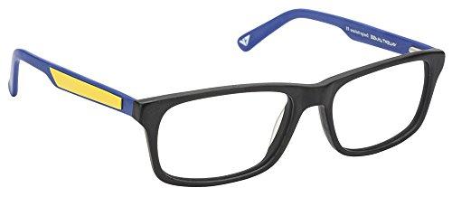 Vincent Chase VC 6468 Matte Black Blue Yellow C4 Eyeglasses(103800)