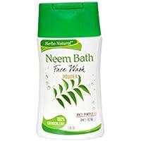 Herbo Natural Neem Bath Face Wash Powder - 30 Gm