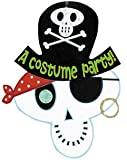 Skeleton Pirate Halloween Invitations 8ct
