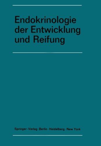 Endokrinologie der Entwicklung und Reifung: 16. Symposion, Ulm, 26.-28. Februar 1970 (Symposion der Deutschen Gesellschaft für Endokrinologie)