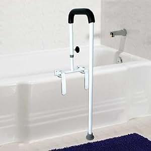 Amazon.com: Floor-to-Tub Bath Safety Rail: Health ...