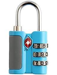 PETRICE Travel Sentry Security Combination Locks- Multipurpose For Luggage & Backpack (TSA-530)
