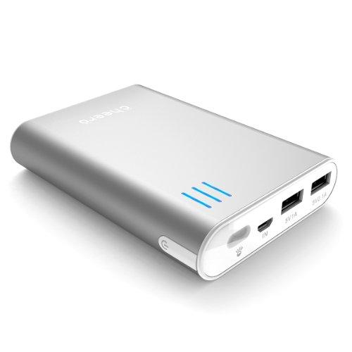 マルチデバイス対応+cheero+Power+Plus+2+10400mAh+(シルバー) 大容量モバイルバッテリー