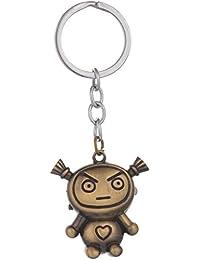 Kairos Designer Angry Alien Watch Key Chain Bronze Clock Keychain (KC-Alien-Watch )