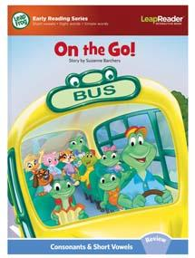 """""""On the Go!"""" is a review all of the short consonant and vowel sounds."""