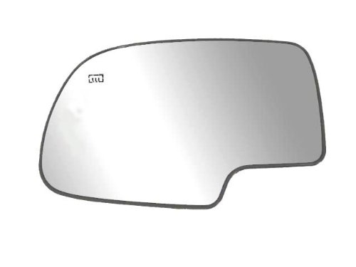 Fit System 33058 Driver Side Heated Replacement Mirror Glass with Backing Plate
