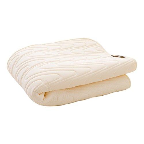 日本製 アウトラスト 「エムール ウルトラクール」 ひんやり敷きパッド シングルハーフサイズ 約100×100cm