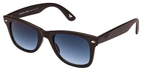 Vincent Chase VC 5147 Matte Black Blue Gradient C34 Wayfarer Sunglasses (105664)