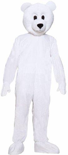 Plush Polar Bear Mascot