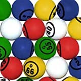Multi Color Single Number Bingo Ball Set By Mr. Chips, Inc.