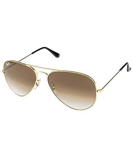 Ray-Ban RB3025 001/51 Medium Size 58 Aviator Sunglasses - B01CE31QAS
