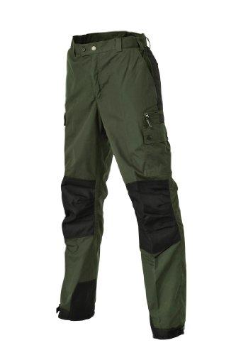 Pinewood Hose Outdoorhose Lappland Kids - Pantalones para niño, color verde, talla 10 años (140 cm)