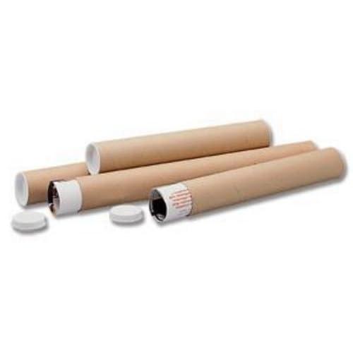 Ambassador Cardboard Postal Tube, 76mm diameter x 305mm (Pack of 12)