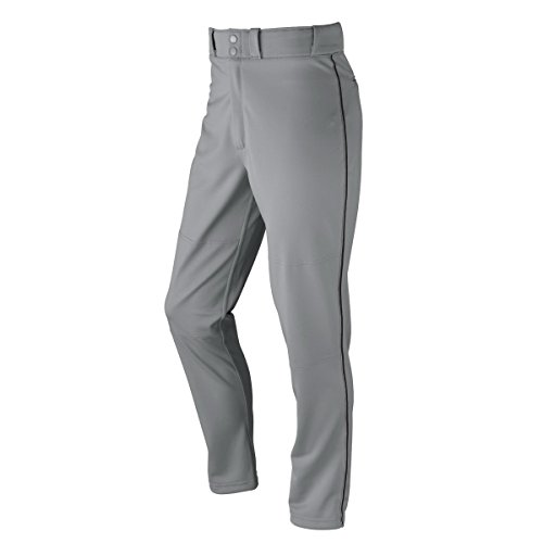 Wilson Youth Classic Relaxed Fit Piped Baseball Pant, Grey/B